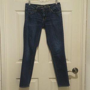 Merona Dark Wash Skinny Jeans